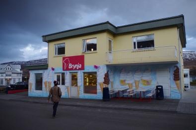 Akureyri, Iceland. October 2013.