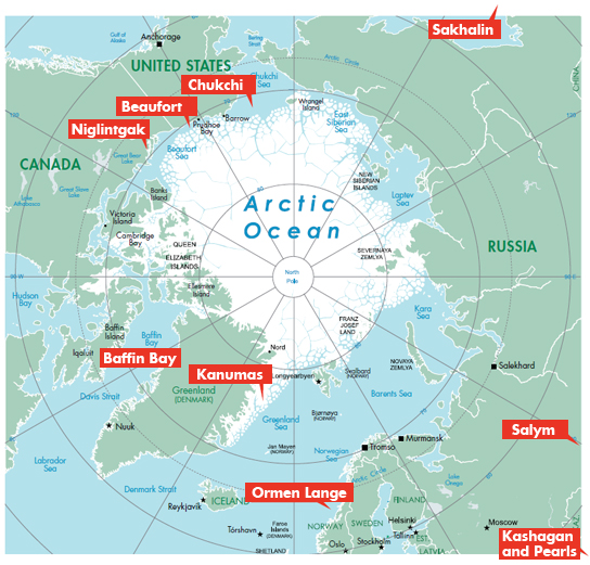 Shell's Arctic Operations. © Shell.