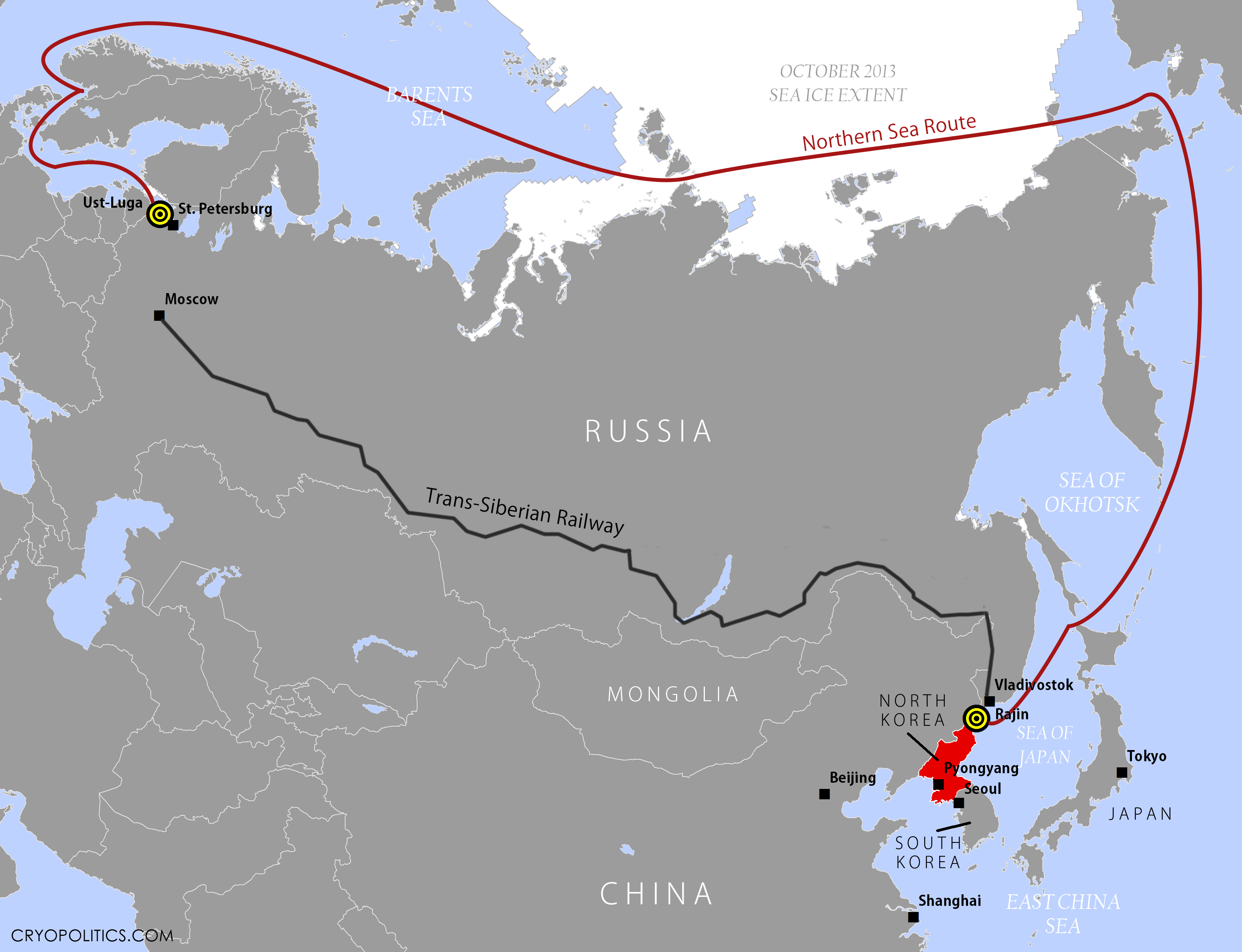 North Korea And The Northern Sea Route Cryopolitics