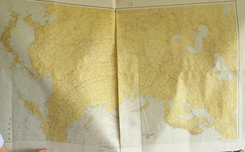 Soviet Map of the Arctic