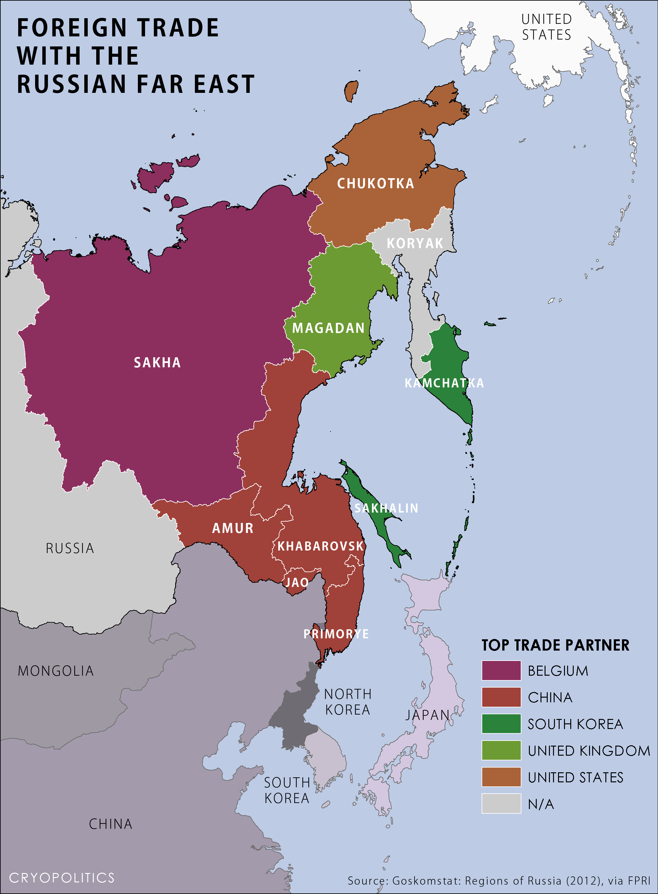 The Far East of Russia. Sights of the Far East