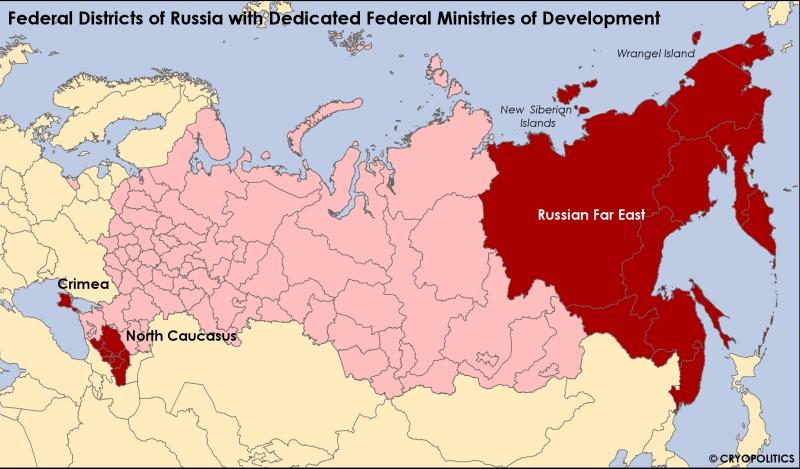RussianFederalDevelopmentMinistriesMap