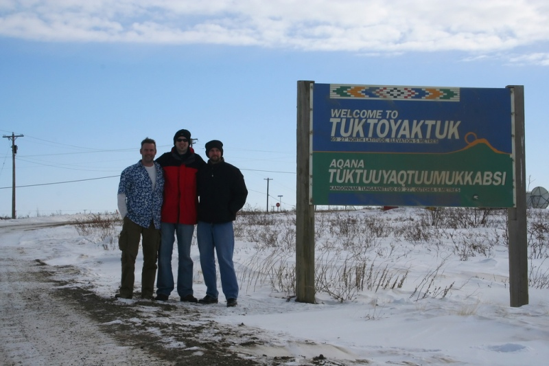 Tuktoyaktuk, Northwest Territories. Could this sleepy Arctic hamlet one day be an oil export terminal? Photo: Flickr/Ian McKenzie.