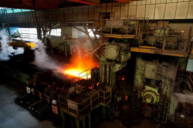 A steel mill in China. Photo: Zlatko Unger/Flickr.
