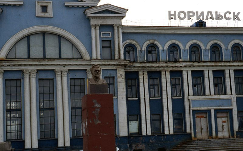 The railway station in Norilsk. Photo: