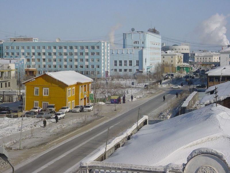 Yakutsk: Not a dump, but still overcrowded. Photo: Wikimedia Commons.