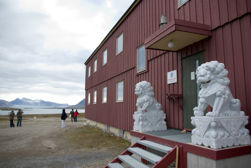 China already has a permanent home on Svalbard at its Yellow River Station. Photo: Rerun van Holt/Flickr