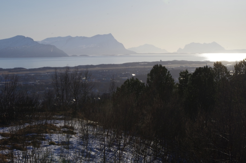 The view over Bodø, Norway. Photo: © Mia Bennett