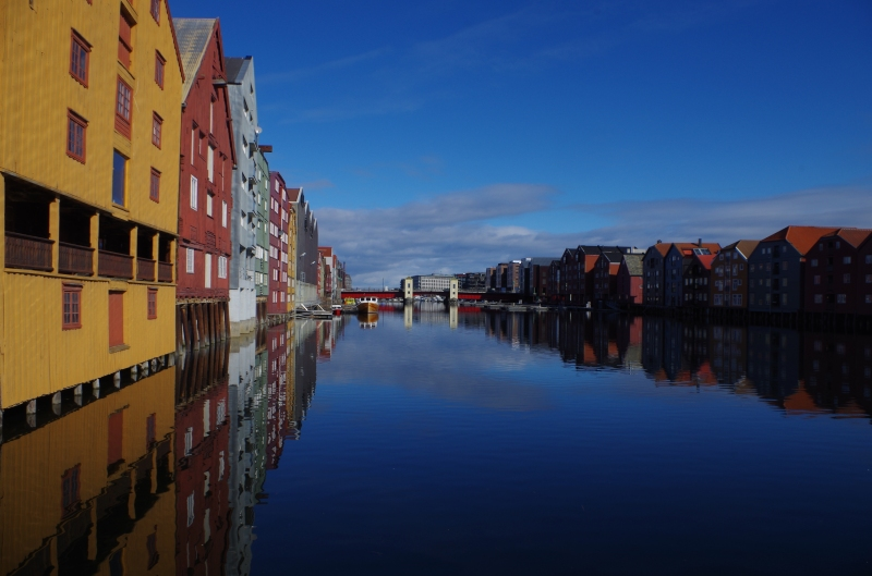 Trondheim by day.