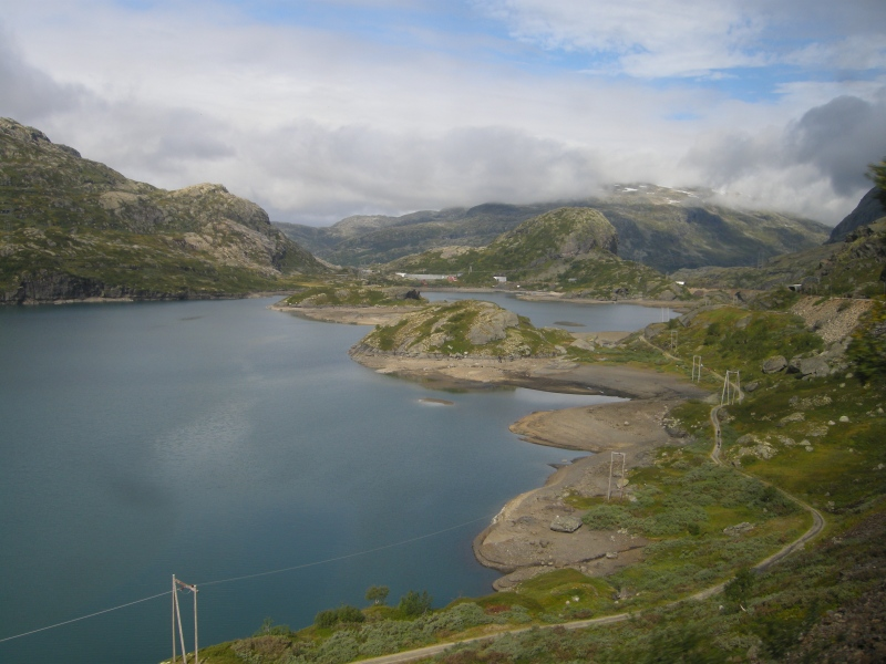 In six years, Norway's hydropower will begin electrifying homes in Britain. © Mia Bennett, 2008.