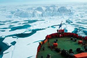 Polar cruising is charting into horizons unknown. Photo: Tatiana Posepelova
