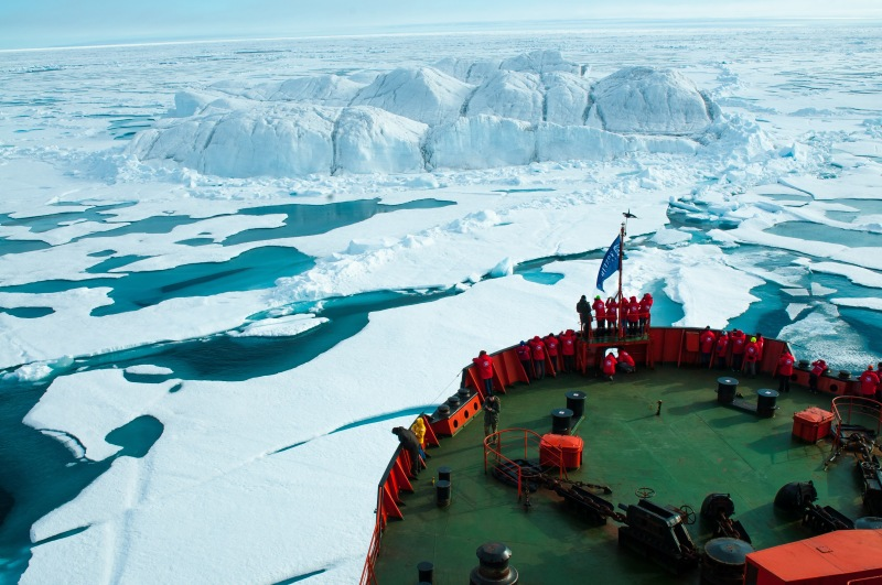 Polar cruising is charting into horizons unknown. Photo: Tatiana Posepelova