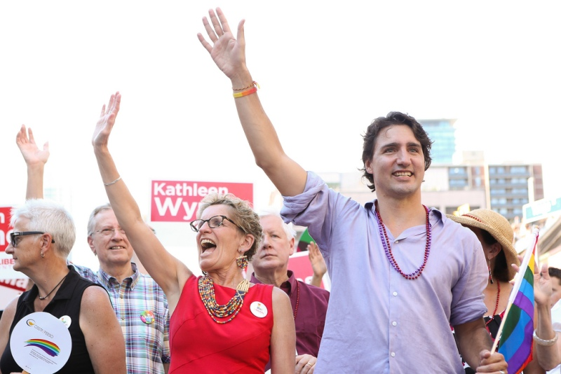 Justin Trudeau in 2013. Flickr/Photo: Adam Scotti, used under Creative Commons license.