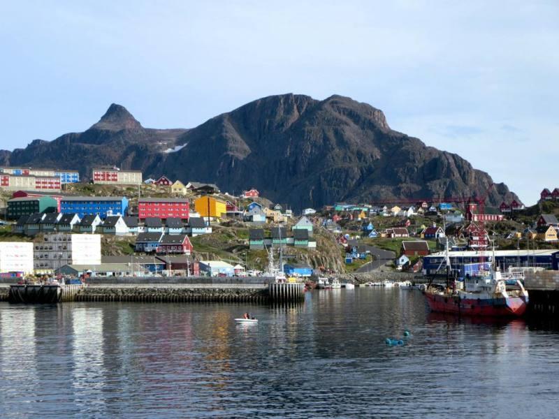 Sisimiut-Greenland-Ocean