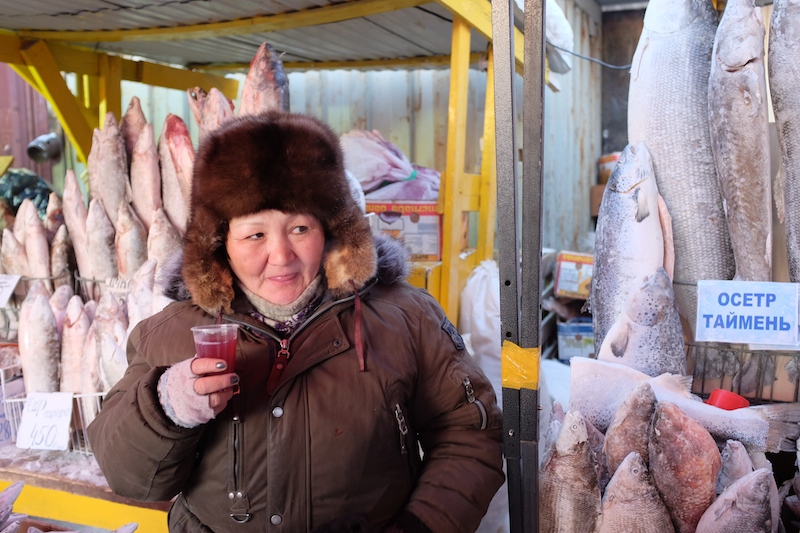 market-fish-russia-siberia-winter-sakha