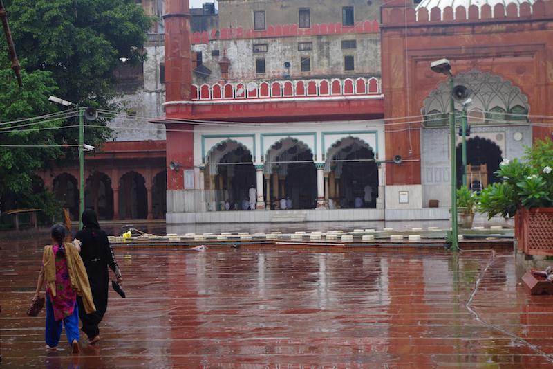 After the rain in Delhi, India.