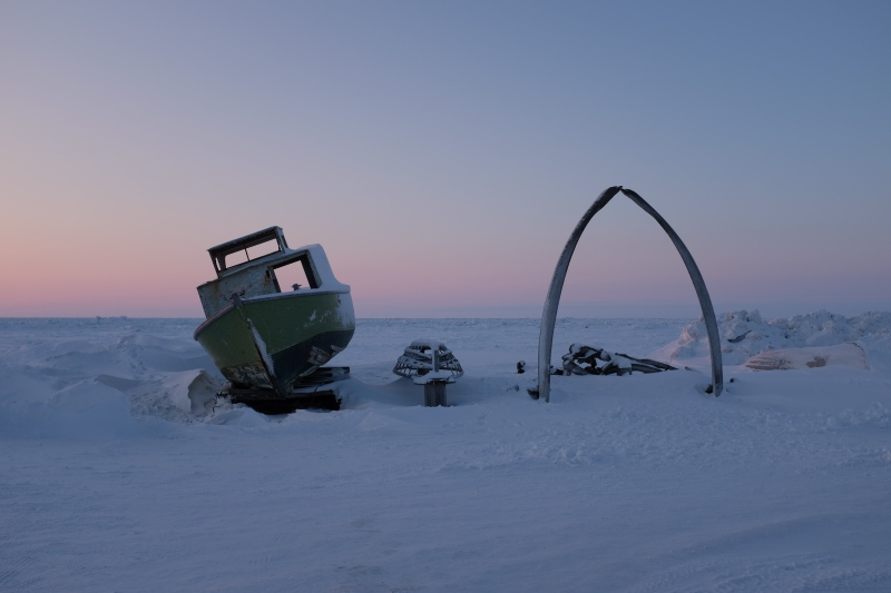 Sunset-Barrow-Alaska