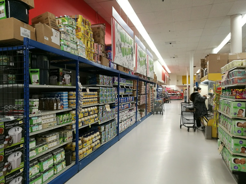 Grocery store in Utqiaġvik, Alaska.